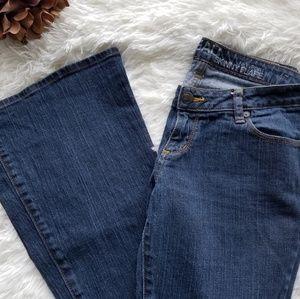 Bullhead Newport Skinny Flare Jean's 9L